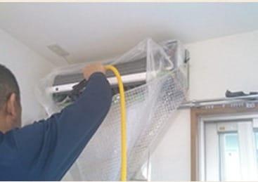 【掃除のしにくい埋込みタイプも!】おそうじゴッドの天井型エアコンクリーニング!!
