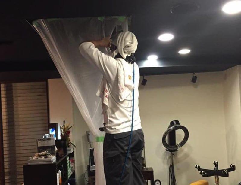 人と環境に優しいエアコンクリーニング【天井埋め込み型】【天井吊り型】