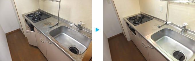 【15年の豊富な経験】プロの技術でキッチンをピカピカに☆