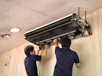 中部エアコンサービスの高品質エアコンクリーニングを天井型で!